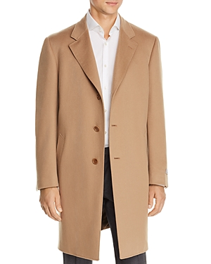 Canali Wool & Cashmere Classic Fit Overcoat-Men