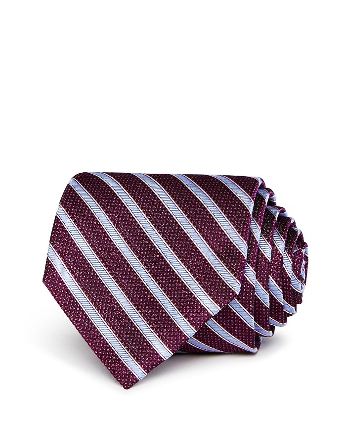 The Men's Store at Bloomingdale's - Striped Silk Classic Tie - 100% Exclusive