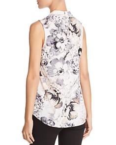 Calvin Klein - Floral Print Sleeveless Top