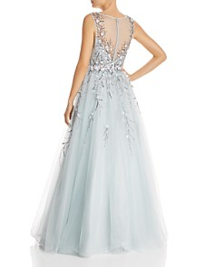 Basix - Floral Embellished Ball Gown