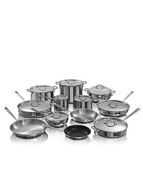 All-Clad - d3 21-Piece Stainless Steel Set