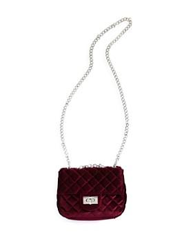 GiGi - Girls' Quilted Velvet Crossbody Bag - 100% Exclusive