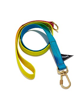 Found My Animal - Bright Tie-Dyed Cotton Leash