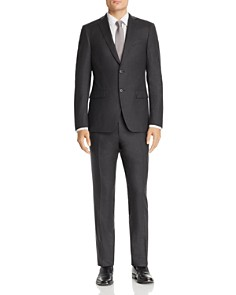 John Varvatos Star USA - Micro-Checked Wool Flannel Slim Fit Suit Separates