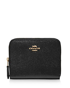 COACH - Small Leather Zip Around Wallet