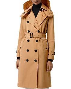 Burberry - Kensington Hooded Trench Coat