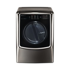 LG - SIGNATURE Large Smart Wi-Fi-Enabled Gas Dryer with TurboSteam™ #DLGX9501K