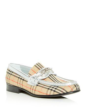 Burberry - Women's Moorley Apron Toe Loafers