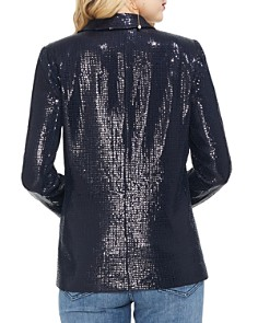VINCE CAMUTO - Sequined Open-Front Blazer