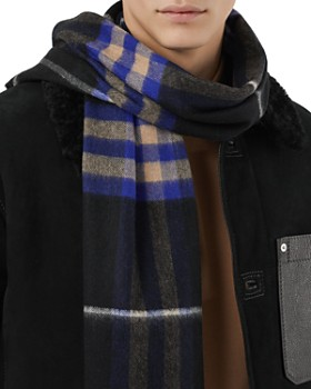 Burberry - Cashmere Giant Check Scarf