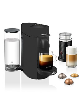 Nespresso - VertuoPlus Coffee & Espresso Maker by De'Longhi with Aeroccino Milk Frother, Limited Edition