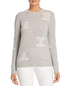 Max Mara - Vetro Logo-Letter Cashmere Sweater