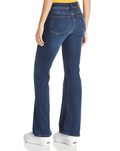 Mavi - Sydney Flare Jeans in Dark Supersoft