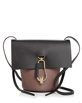 28dc1d7f9a41 ZAC Zac Posen - Belay Color Block Leather Crossbody ...