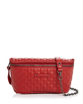 Longchamp - Amazone Quilted Leather Convertible Belt Bag