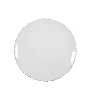 Costa Nova White Pearl Salad Plate