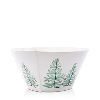 VIETRI - Lastra Holiday Medium Stacking Serving Bowl