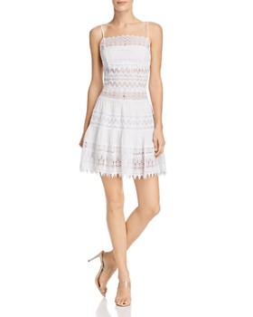 Charo Ruiz Ibiza - Joya Crochet Lace Paneled Dress