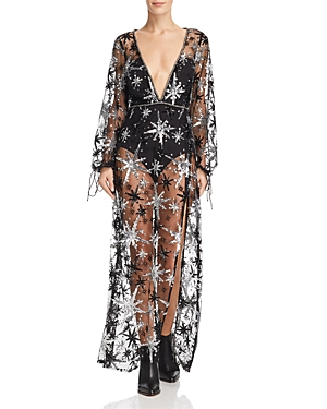 For Love & Lemons STARDUST MAXI DRESS