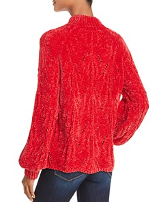 Lost and Wander - Starlight Mock-Neck Chenille Sweater