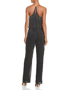 FRENCH CONNECTION - Clara Beaded V-Neck Jumpsuit