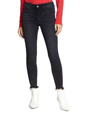 Sanctuary - Social Standard Frayed Ankle Jeans in Delta Black