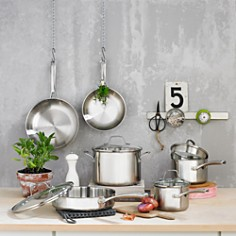 Calphalon - Classic Stainless Steel 10-Piece Cookware Set