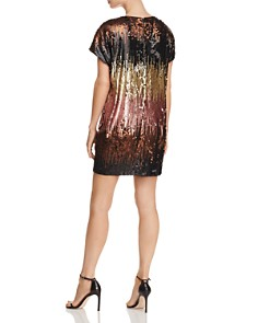 Aidan by Aidan Mattox - Ombré Sequin Shift Dress