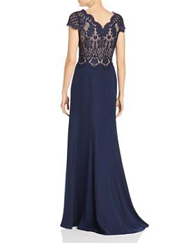 Tadashi Petites - Lace Bodice Gown