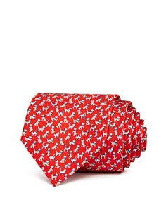 Salvatore Ferragamo - Cats & Dogs Silk Classic Tie