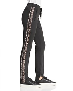 PAM & GELA - Leopard Stripe Cigarette Pants