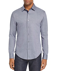 BOSS Hugo Boss - Ronni Double-Knit Jersey Slim Fit Shirt