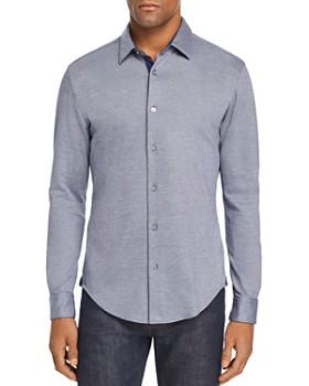 BOSS - Ronni Double-Knit Jersey Slim Fit Shirt
