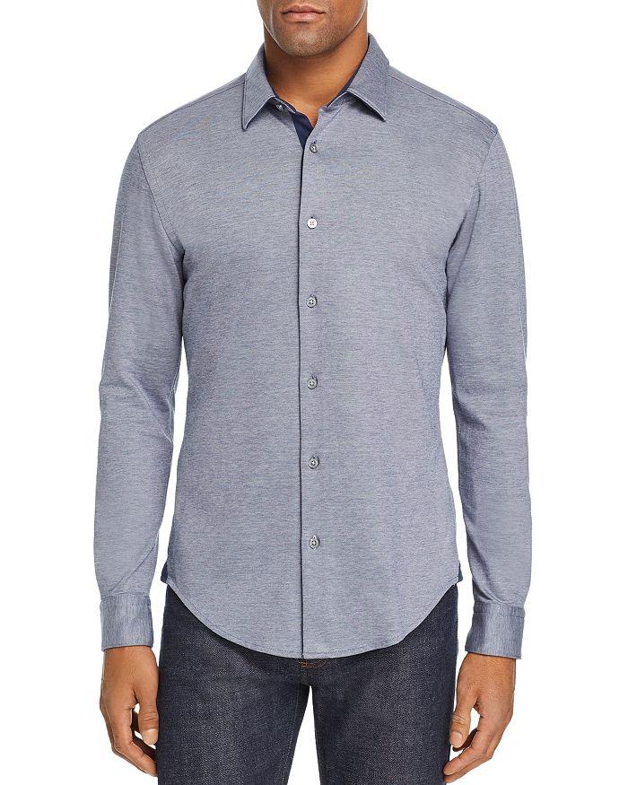 2a530fa93 BOSS Hugo Boss BOSS Ronni Double-Knit Jersey Slim Fit Shirt ...