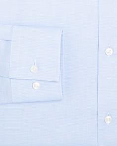 BOSS - Fine-Grid Slim Fit Dress Shirt