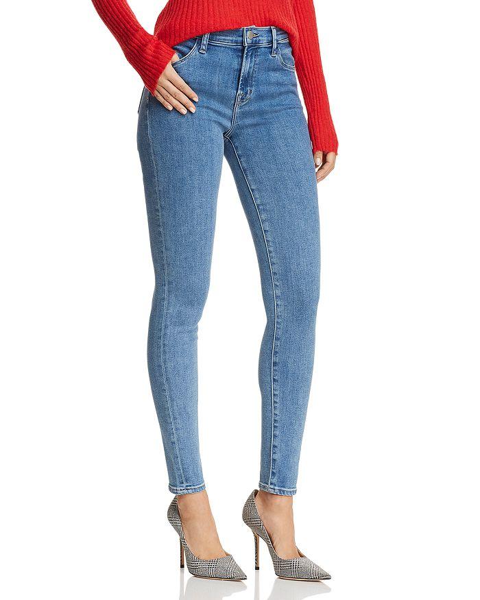 e762bed8adb J Brand Maria High-Rise Skinny Jeans in Lightyear | Bloomingdale's