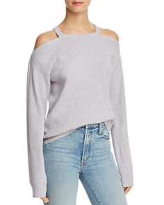 J Brand - Mackenzie Cold-Shoulder Cashmere Sweater