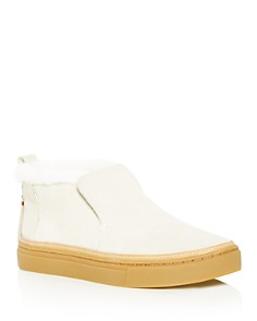 TOMS - Women's Paxton Faux-Fur Sneakers