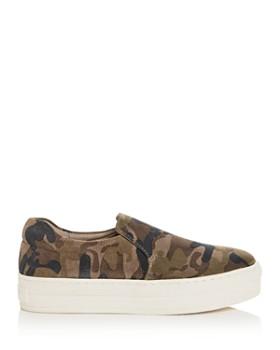 J/Slides - Women's Harry Slip-On Platform Sneakers