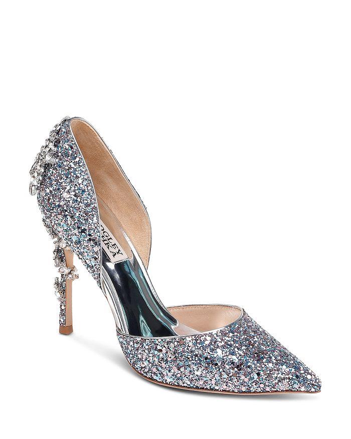 Badgley Mischka - Women's Vogue III Crystal Embellished d'Orsay Pumps - 100% Exclusive