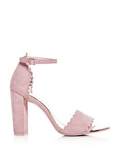 Ted Baker - Women's Raidha Scalloped High Block-Heel Sandals