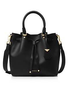 MICHAEL Michael Kors - Medium Leather Bucket Bag