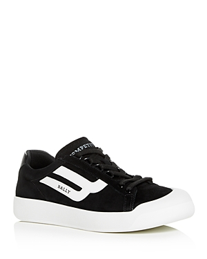 Bally Men's New Competition Suede Low-Top Sneakers