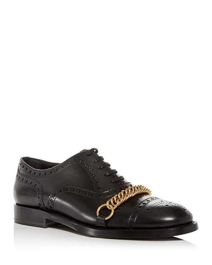 Burberry - Men's Lewis Leather Brogue Cap-Toe Oxfords