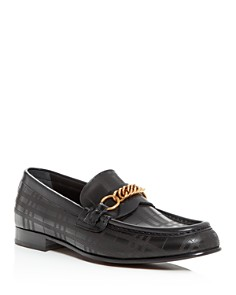 Burberry - Men's Moorley Moc-Toe Leather Loafers