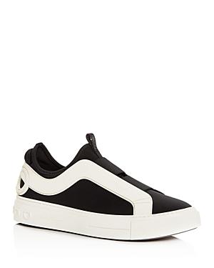 Salvatore Ferragamo Men's Answer Slip-On Sneakers