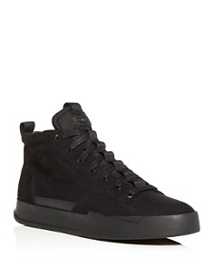 G-STAR RAW - Men's Rackham Core Suede Mid-Top Sneakers