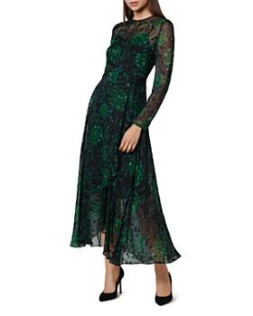 L.K.Bennett - Roe Dandelion Print Maxi Dress