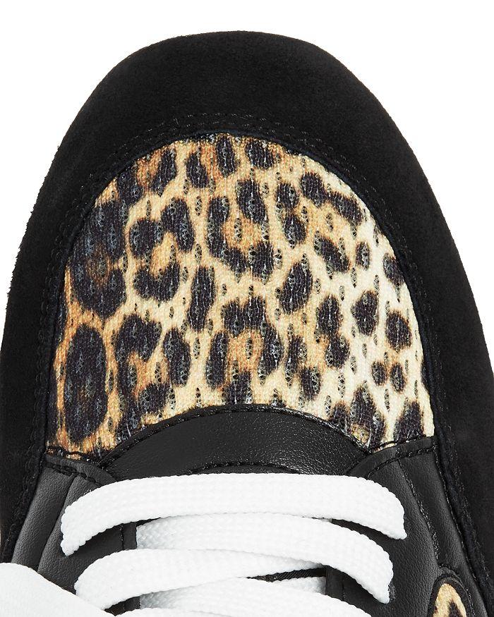 5b95f65028c54 Moschino Women's Leopard-Print Low-Top Sneakers | Bloomingdale's