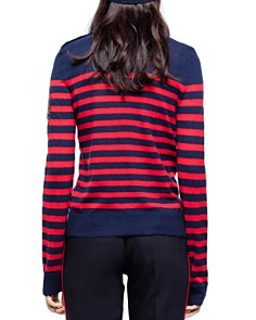 Zadig & Voltaire - Delly Bis Striped Cashmere Sweater